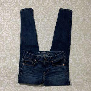 AEO super skinny women's jeans size 0